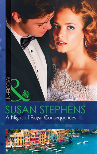 susan stephens' a night of royal consequences