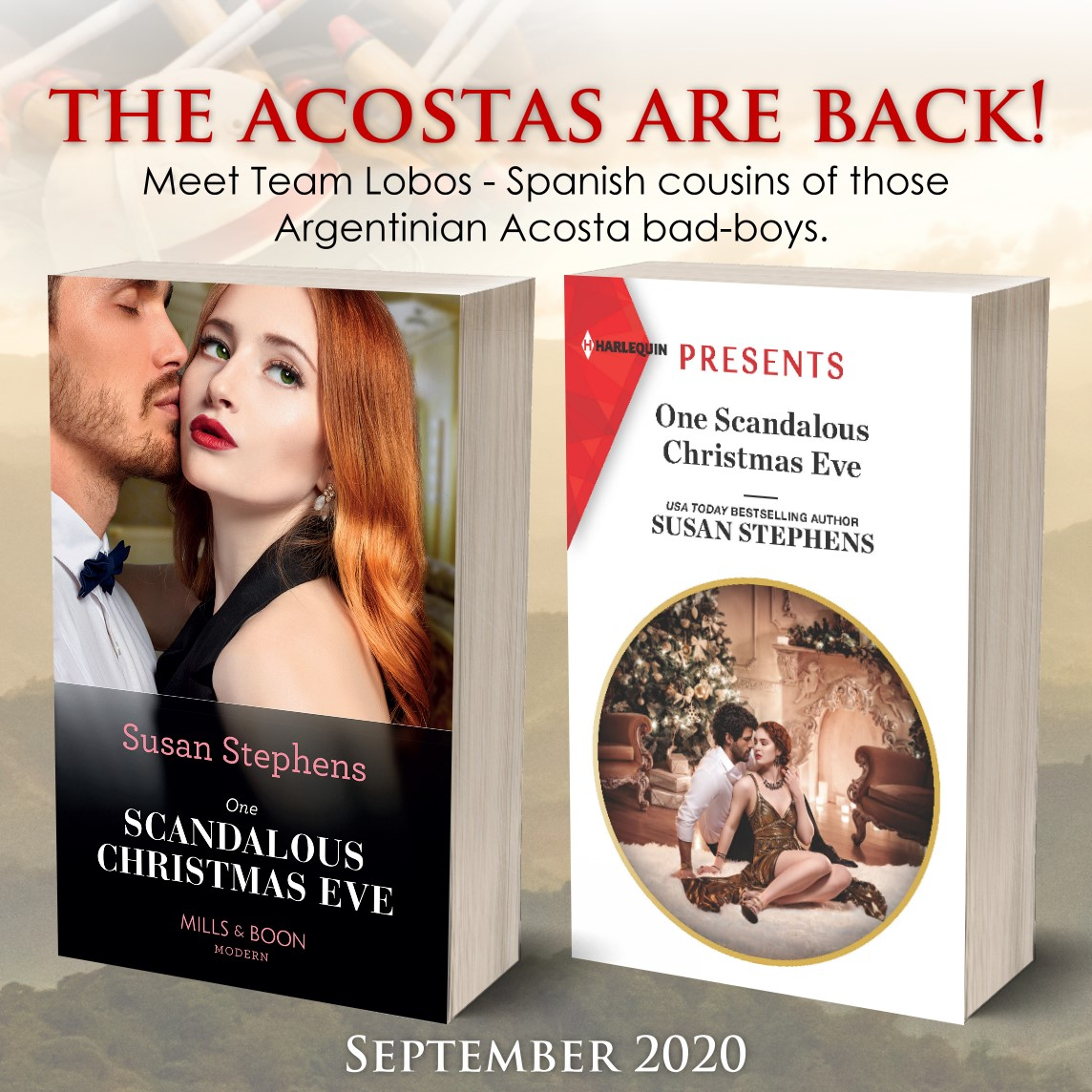 susan stephens' the acostas are back!